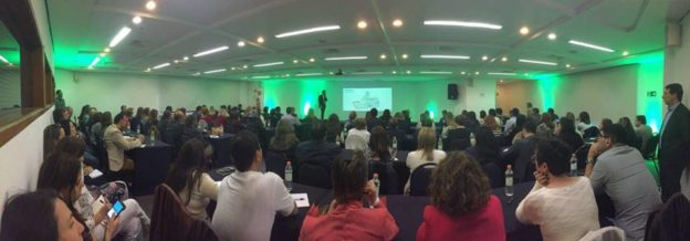 Foto panorâmica do evento
